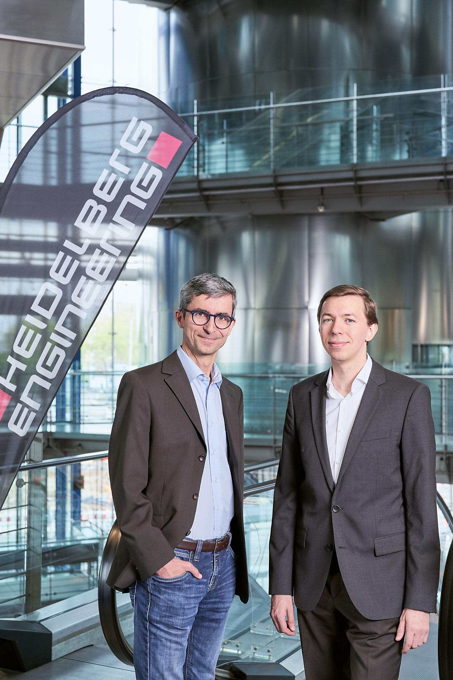 Dr. Tilman Otto (links) übernimmt die Position Leiter Technologiemanagement für ophthalmologische Geräte und Dr. Christian Odaker (rechts) tritt als Leiter Forschung und Entwicklung ins Unternehmen ein.