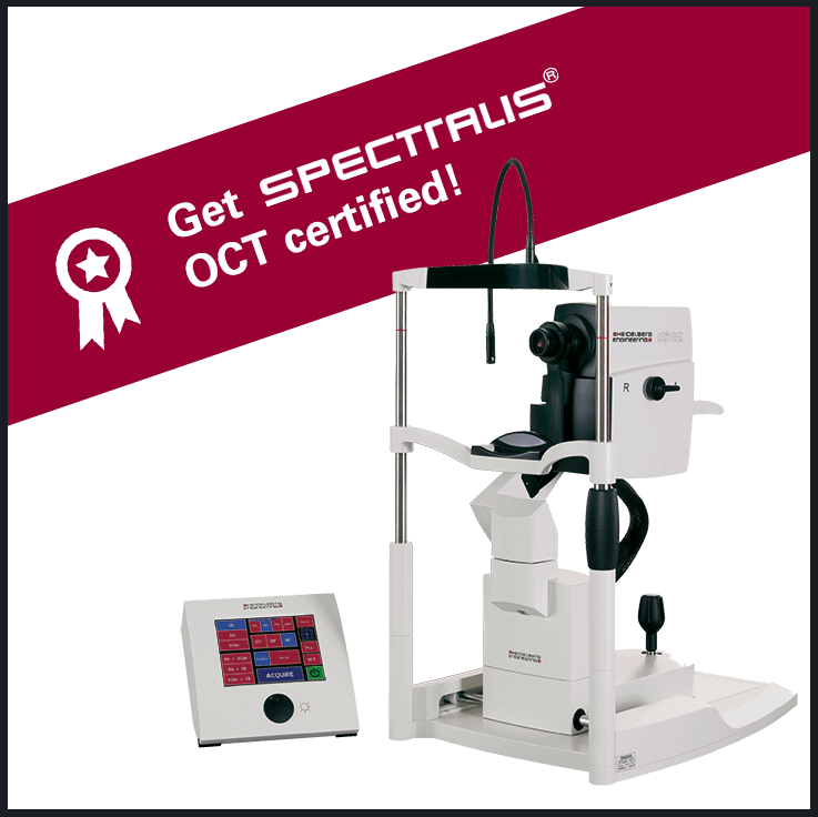 Get certified with SPECTRALIS OCT Operator Certification