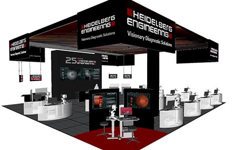 Heidelberg Engineering – AAO 2015 Las Vegas, Sands Expo/Venetian, Level 2, Halls A, B & C, Booth 4215