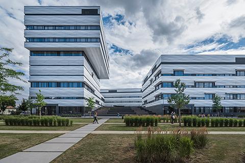 Heidelberg Engineering Skylabs office and laboratory building (Photo: BHP Agentur für Bild und Konzept GmbH)