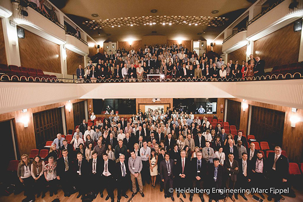 Record numbers attend 13th International SPECTRALIS Symposium Foto: Marc Fippel Fotografie
