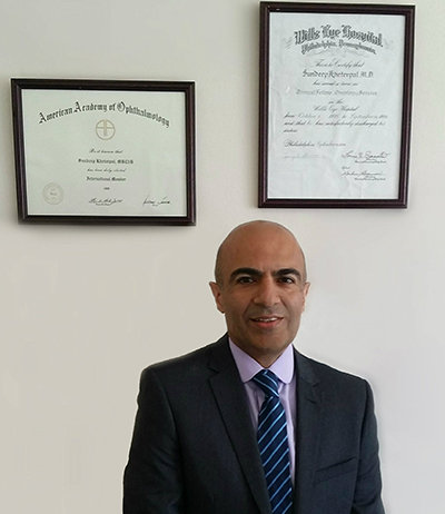 Sundeep Kheterpal, Consultant Ophthalmic Surgeon