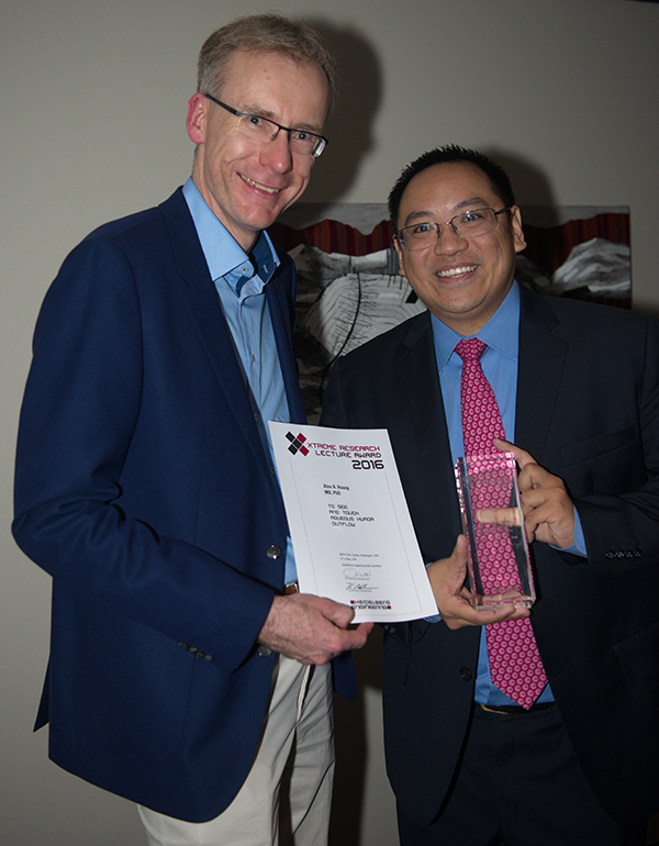 Dr. Alex Huang receives Heidelberg Engineering's Research Award ...